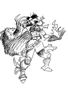 Tzeenchian battle sister