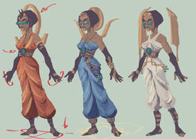 Egyptian mages