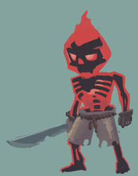 Dark flame pirate ? by 40-Kun
