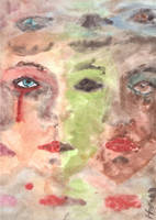 Pieces of Faces by Hannah-Sophie