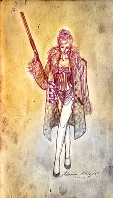 Shot-gun Queen