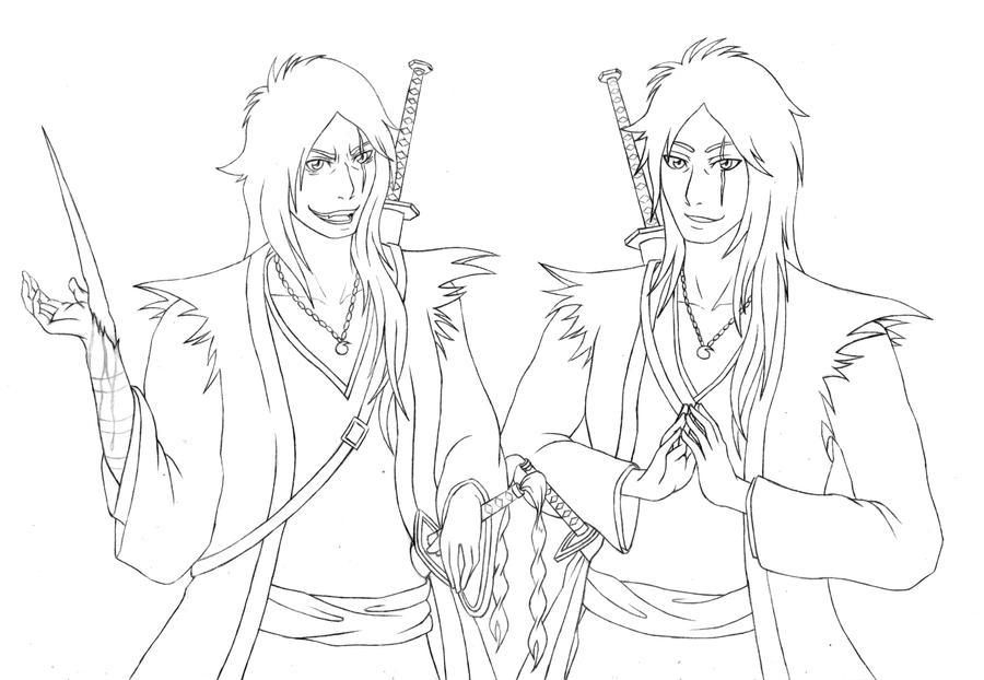 Zaoru and Kaoru lines by blackberri