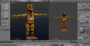 WIP Withered Chica V2 #2