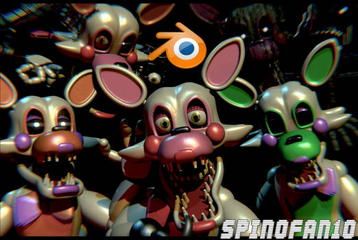Mangle v4 Pack Release! (Now for C4D+SFM) by Spinofan