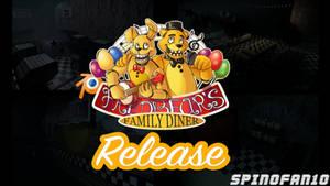 Fredbears Family Diner Map Pre-Release