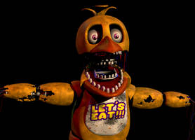Withered Chica v4 by Spinofan