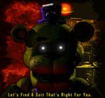 The Yellow Bear - FNaF 1/UCN