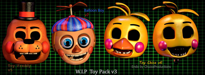Toys Pack v3 Announcement! by Spinofan