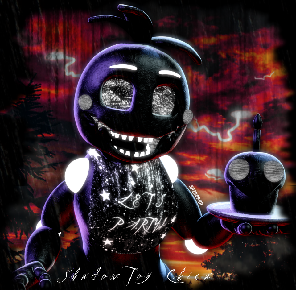 Shadow Toy Chica By Spinofan On DeviantArt