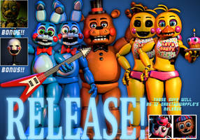 FNaF Help Wanted Toys Release! - 1000 WMP Part 1