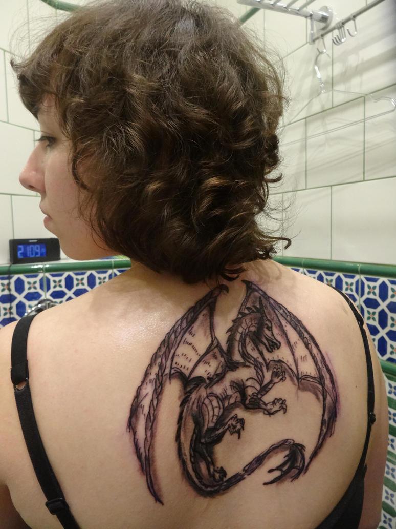 My tattoo by Dragonwinger