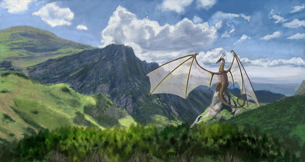 Matte Paining module HW by Dragonwinger