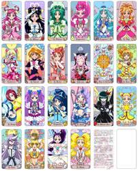 Pretty Cure TAROT by su-ga-me