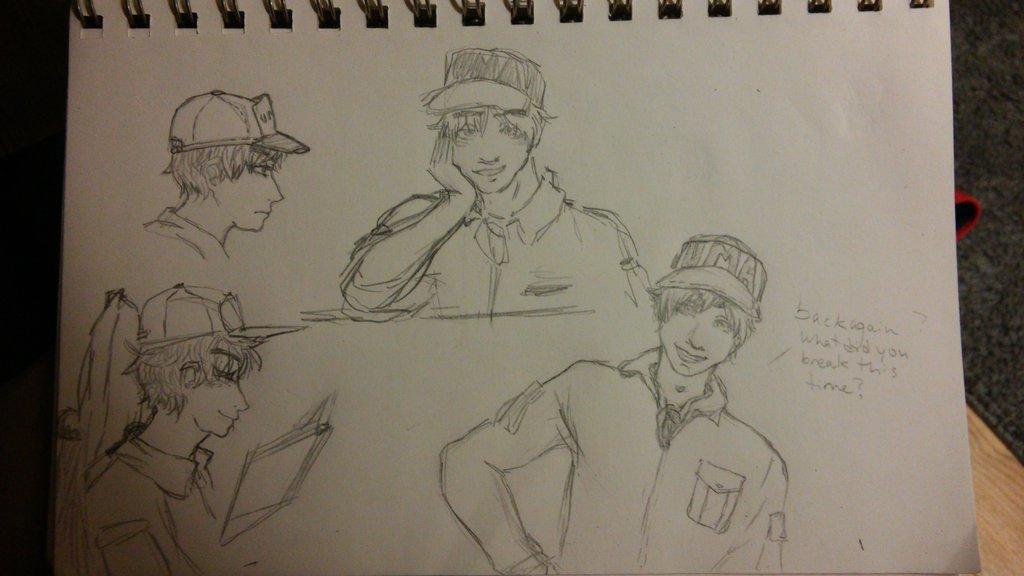 4 am gray doodles by Wukkio