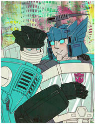 Commission: Blurr and Jack by Humblebot