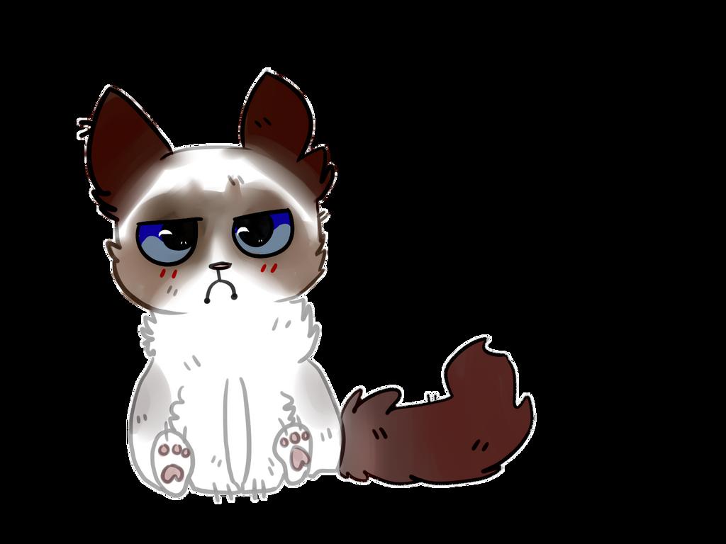 clipart grumpy cat - photo #42