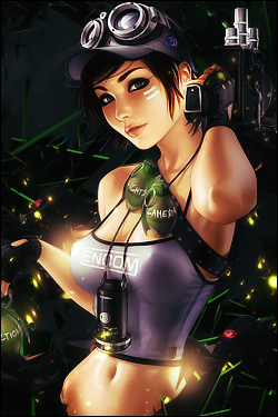 Rogue GFX Featured signature thread Girl_gamers_by_finer_gaby-d5lxv7w