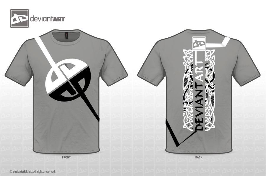 Black and White DeviantArt Gr by glowbg