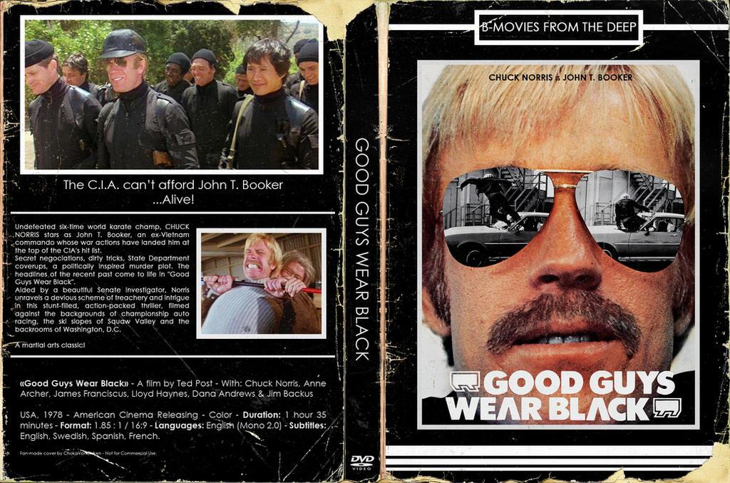 [Retro-DVD cover] - Good Guys Wear Black by ChokaVonChicken