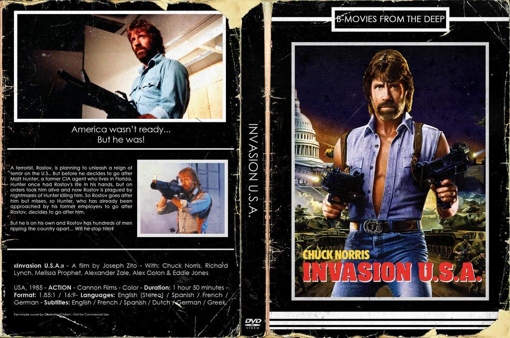 [Retro-DVD cover] - Invasion U.S.A. by ChokaVonChicken