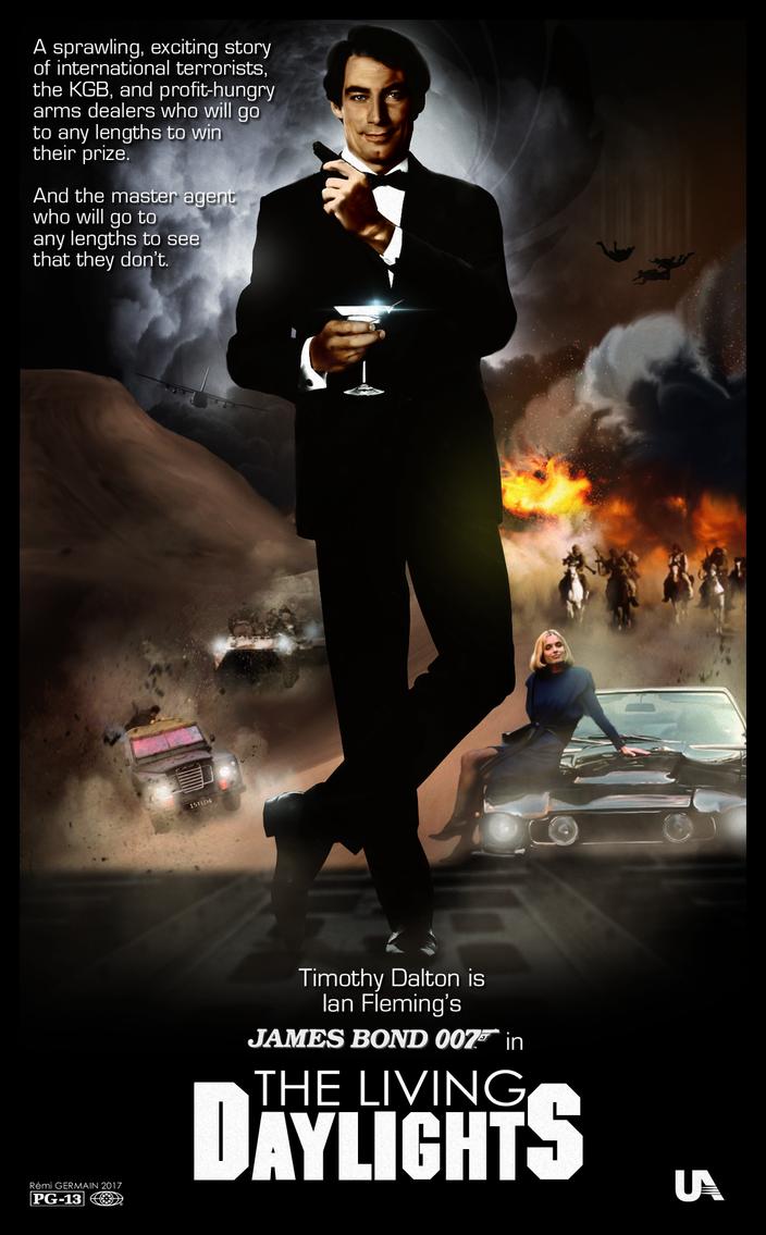 The Living Daylights - Concept Art Poster by ChokaVonChicken