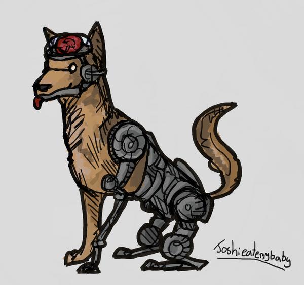 Fallout: Rex by JoshieAteMyBaby