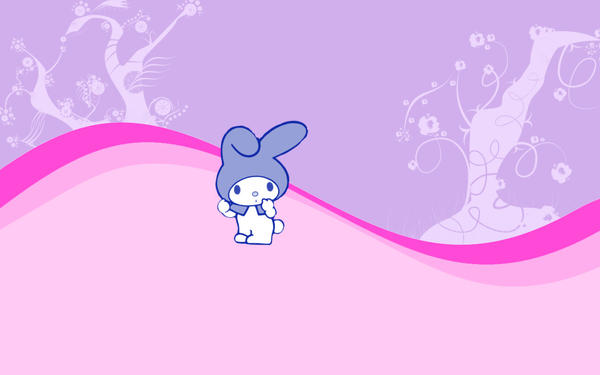 My Melody Wallpaper By Suqbus