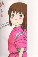 chihiro by FallingFrozen