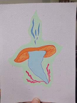 Nise's Mushroom - finished