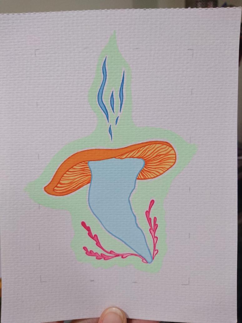 Nise's Mushroom - finished by FallingFrozen