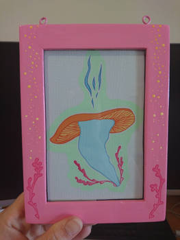 Nise's Mushroom - final framed