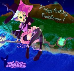 Witch girl Birthday gift~!