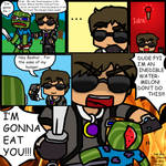 Minecraft Mini Comic: No food in Hunger Games!