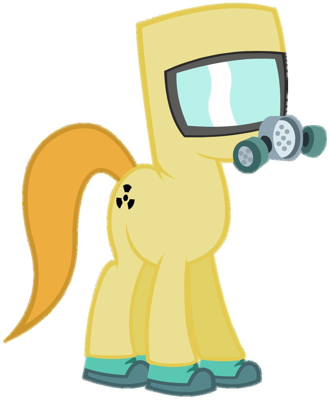 Hazmat Pony vector by ThaddeusC