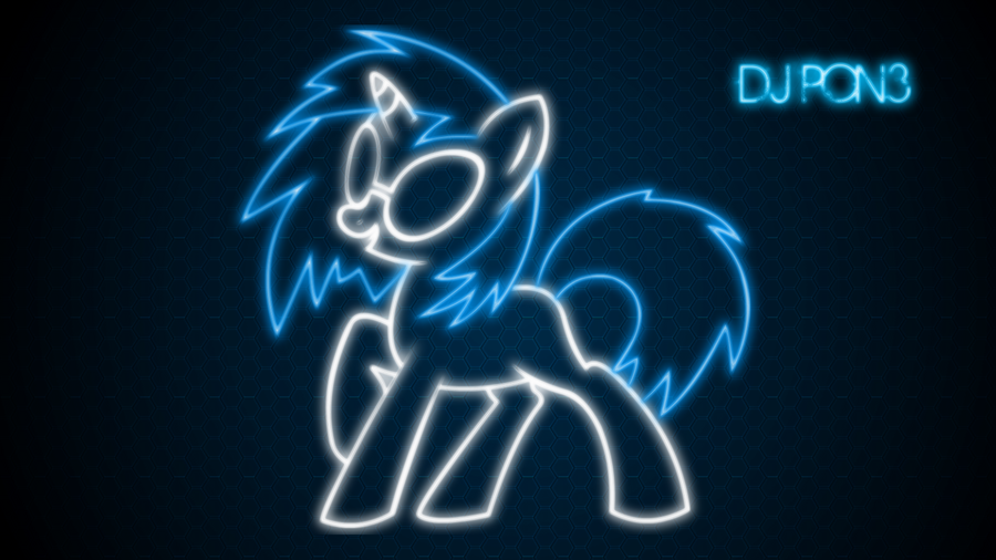 Another DJ Pon3 desktop by ThaddeusC