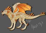 Orange Crystal Dragon ADOPT AUCTION
