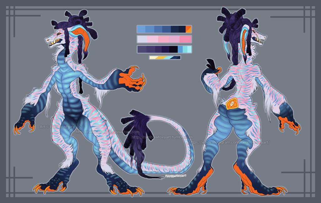 OA: DREAD by Rainbow-Foxy
