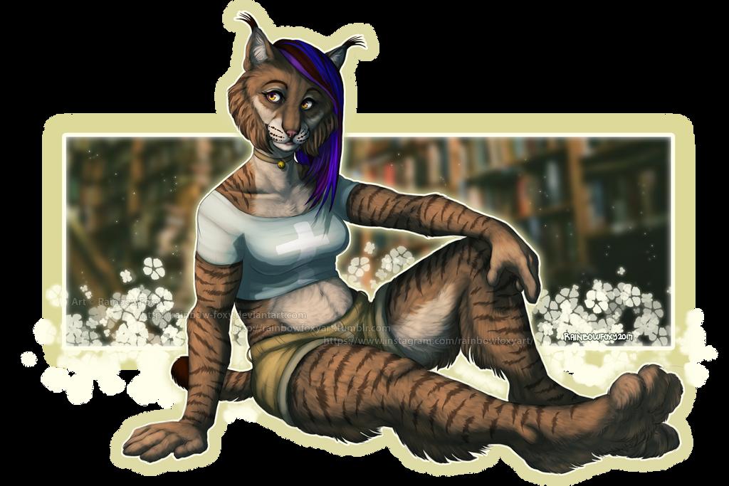 Book Lynx by Rainbow-Foxy