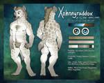 XohnnyRaddox Ref Sheet