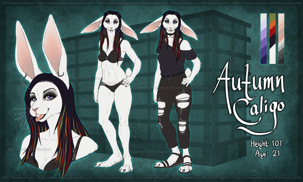 :COM: Autumn Reference by Rainbow-Foxy