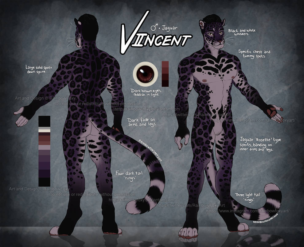 (REF) Viincent by Rainbow-Foxy
