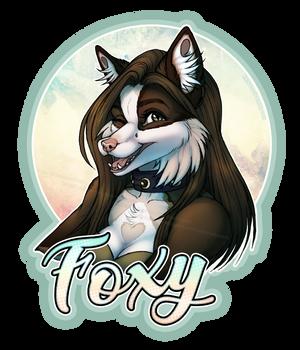[PA] Foxy Badge 2019 by Rainbow-Foxy