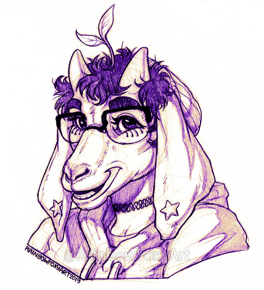 (CM) GoatyGalaxy by Rainbow-Foxy