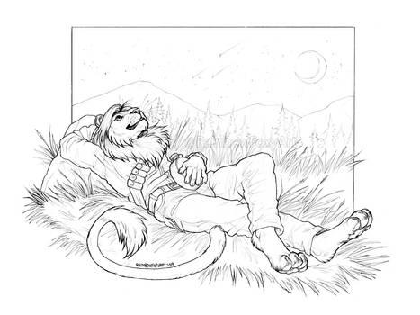 [COM] Stargazing Lion