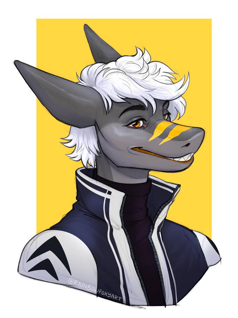 [GA] DInoBait Bust by Rainbow-Foxy