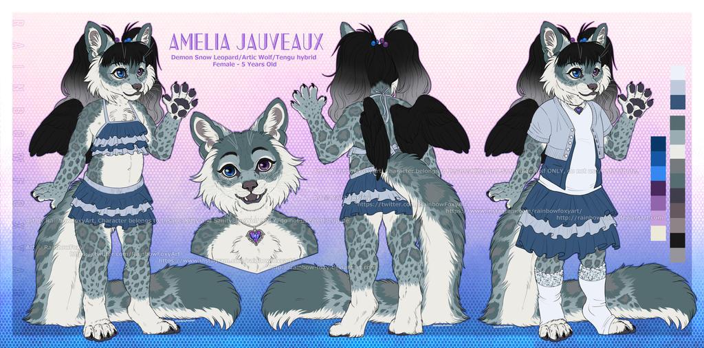 [CM] Amelia Jauveaux by Rainbow-Foxy