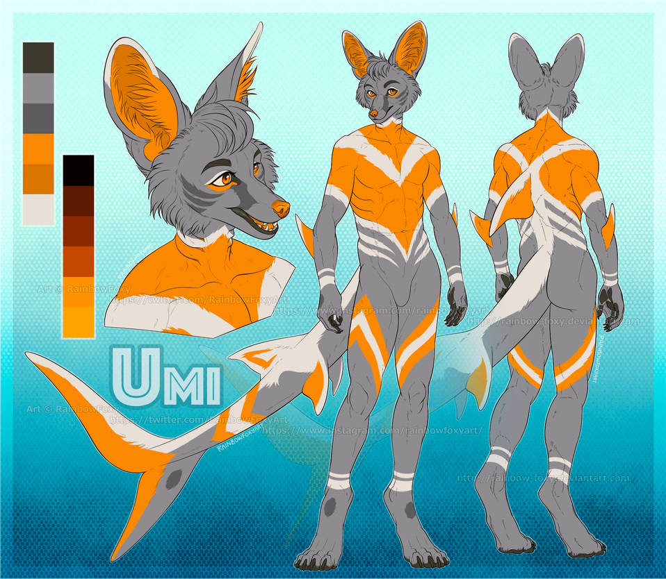 [CM] Umi Reference Sheet by Rainbow-Foxy