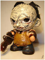 Leatherface - Munny by Flame-Ivy