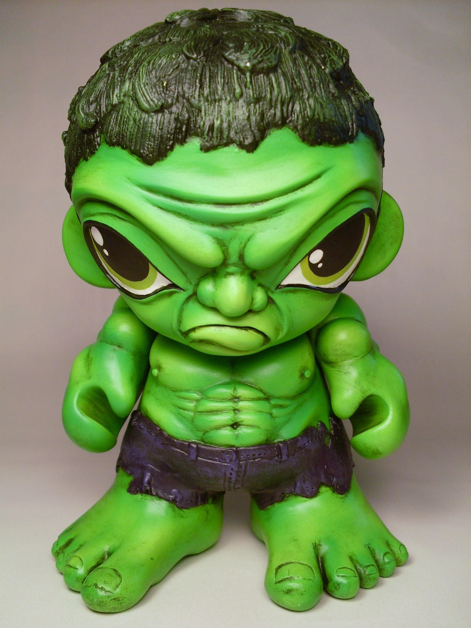 HULK SMASH MUNNY by Flame-Ivy
