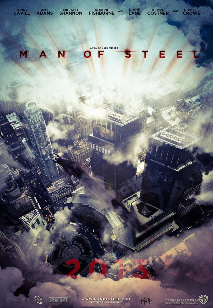 Man of Steel - Movie Poster by JustHunt